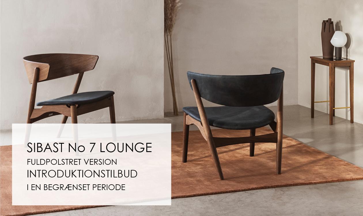 Sibast No 7 Lounge - Fuldpolstret - Introduktionstilbud