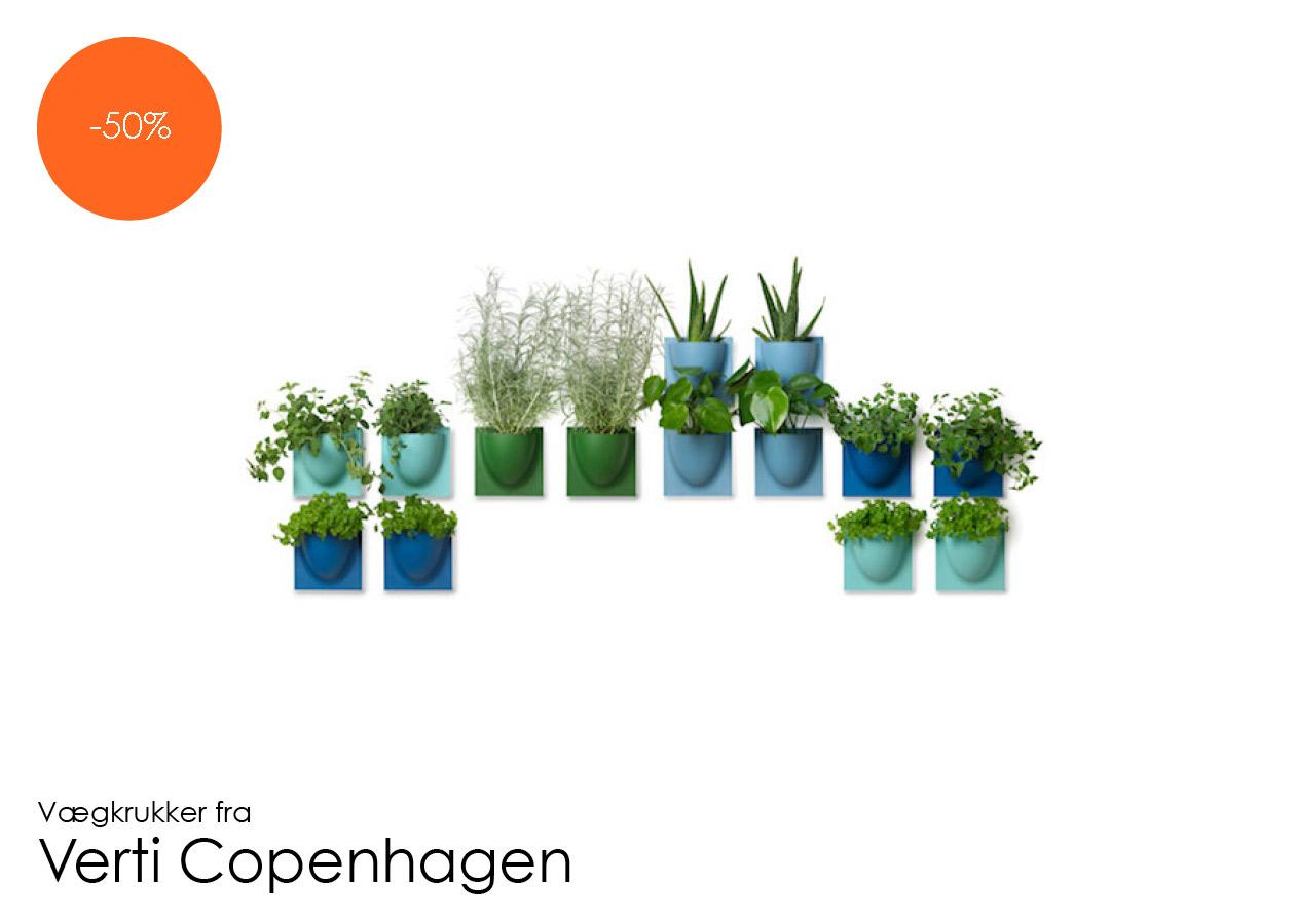 Vægkrukker Mini fra Verti Copenhagen -20%