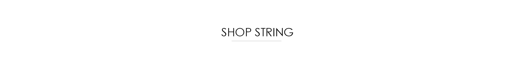 SHOP STRING MØBLER
