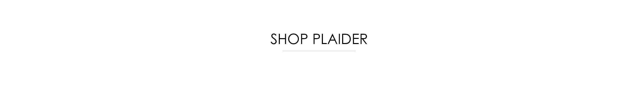 Shop plaider fra Røros Tweed