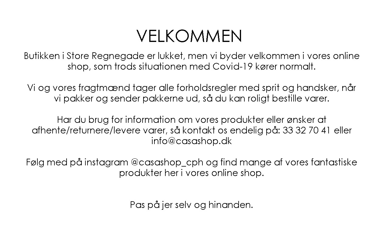 Velkommen til CasaShop.dk