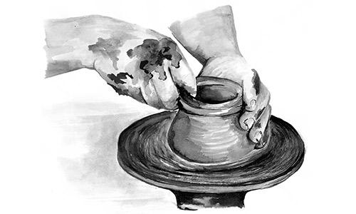 Om Bergs Potter
