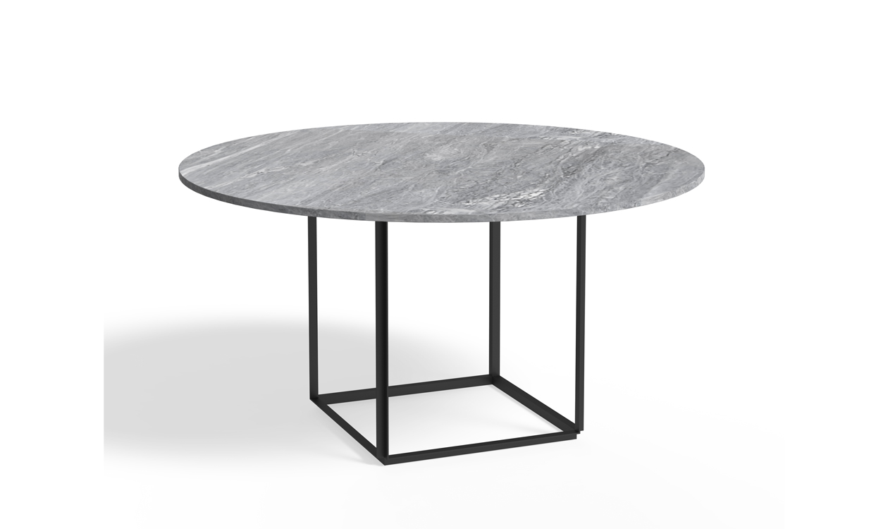Super Florence Dining Table - Grey Marble - Spiseborde - CasaShopping YT96