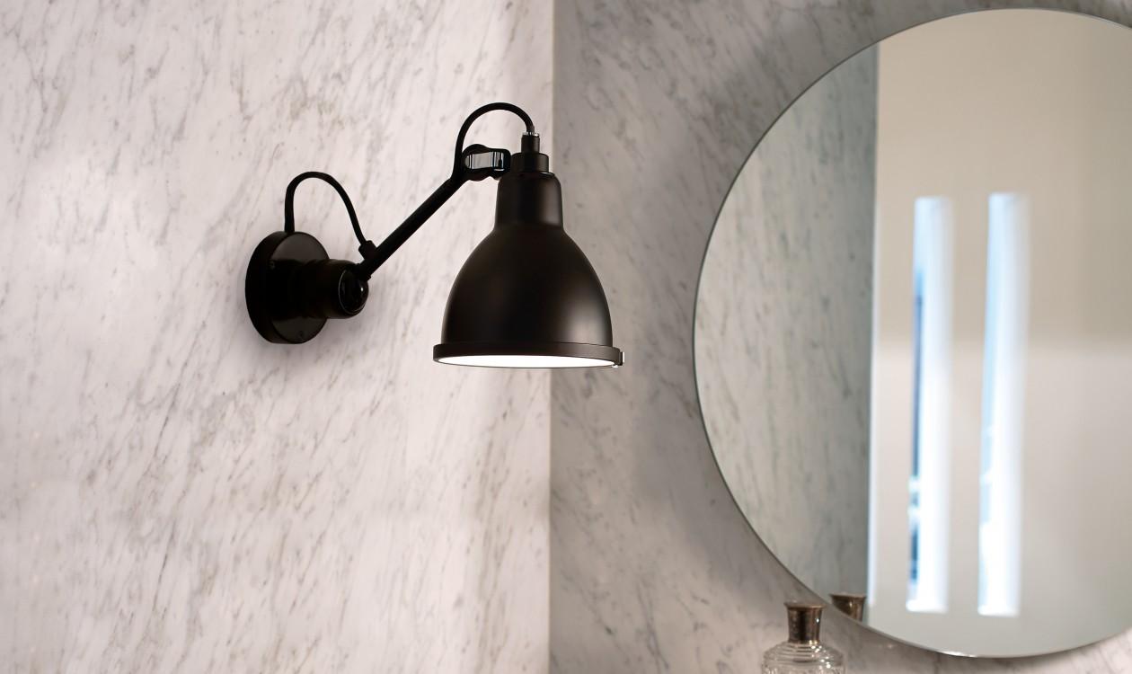 badeværelseslamper Lampe Gras N°304 Bathroom   Badeværelseslamper   CasaShopping badeværelseslamper