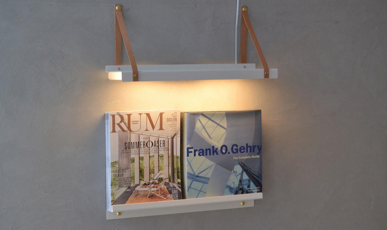 Shelfie lamp   hylde/lampe   væglamper   casashopping