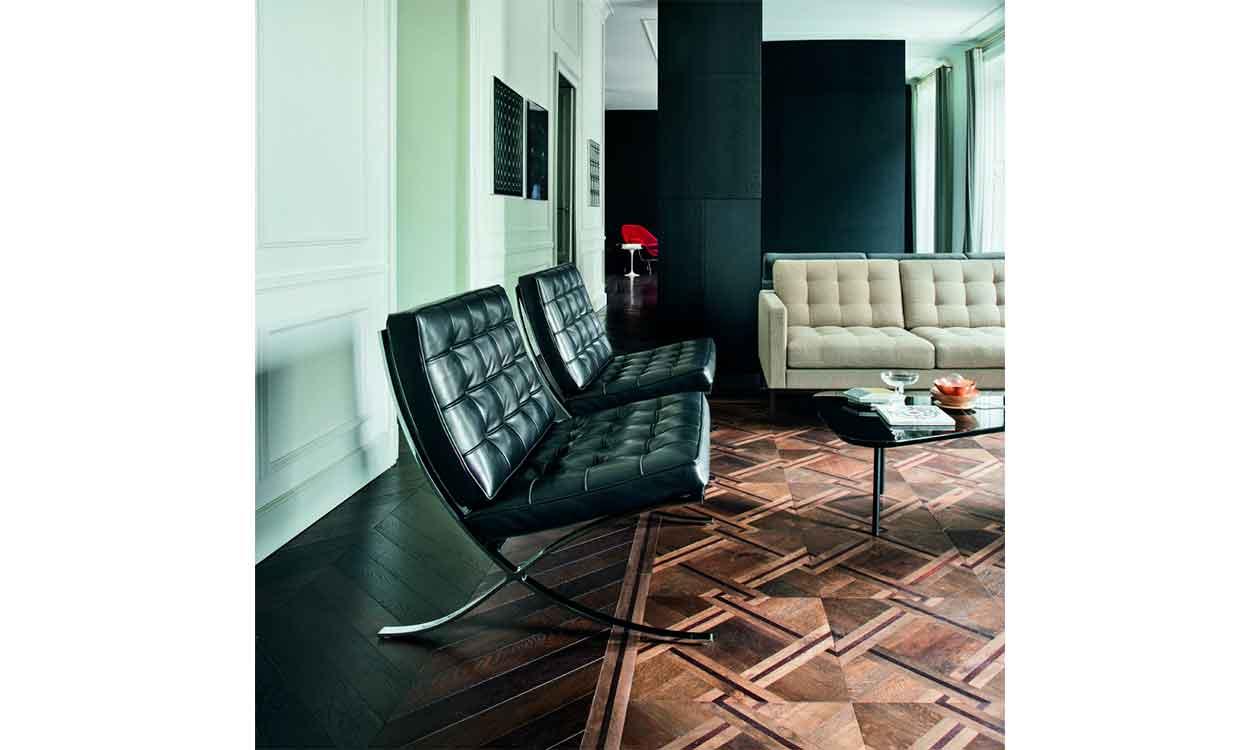 Barcelona Chair Relax lænestol CasaShop Knoll Lounge
