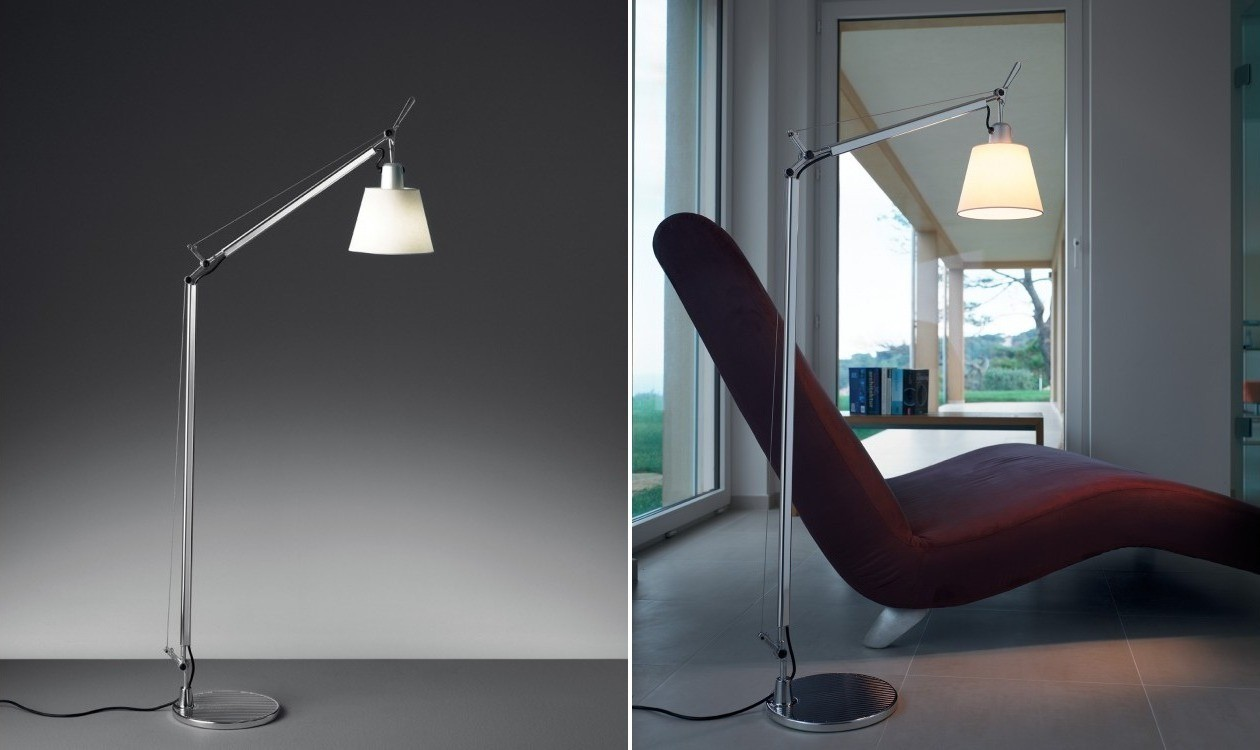 tolomeo basculante reading floor lamps casashopping. Black Bedroom Furniture Sets. Home Design Ideas