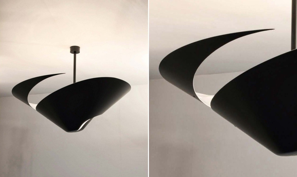 serge mouille ceiling lamp big snail v glamper casashopping. Black Bedroom Furniture Sets. Home Design Ideas